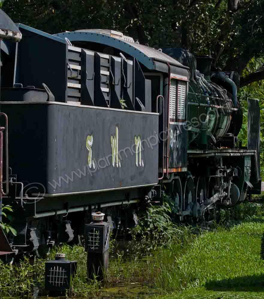 Once proud  locomotive