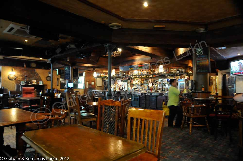The Bar in the  Fibbers Magee Pub