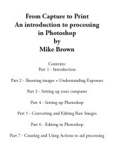 From Capture to Print - €12.30