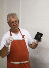 Wet Plate Collodion demonstration by Mike Brown - Photo Courtesy Stela Roibás Lago Photography