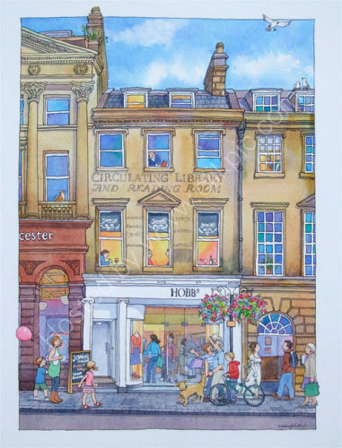 Milsom Street Memories, Runner up in The Bath Prize 2010
