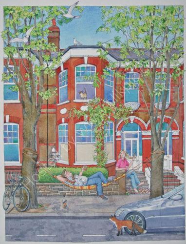Islington House and family