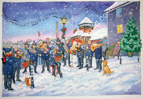 Lewes Glynde and Beddingham Brass Band Christmas
