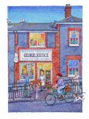 Market Street Life, George Justice