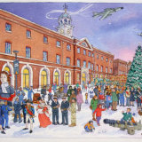 Portsmouth Dockyard at Christmas