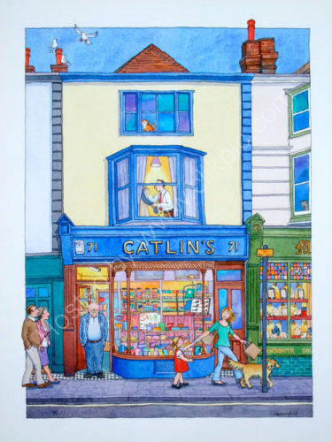 Catlin's  tobacconist and sweet shop, Lewes