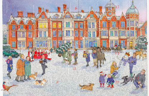 An advent calendar for Sandringham