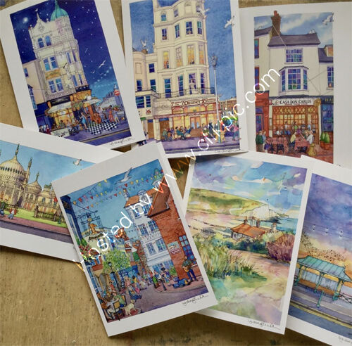 A weekend on the Coast, 5x7 card selection