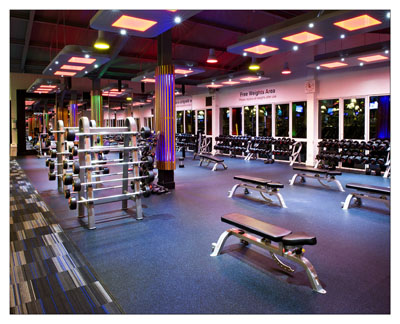 Westwood Clontarf - Free Weights Area