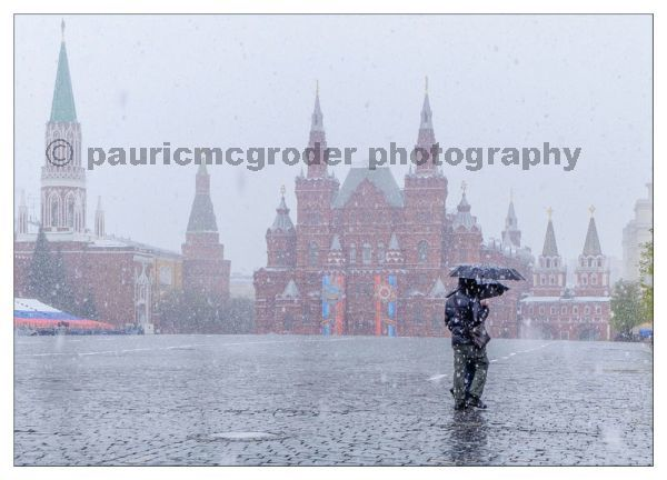 Red Square - May 8th - Snow
