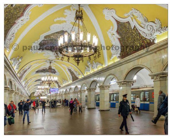 Komsomatskaya Metro Station