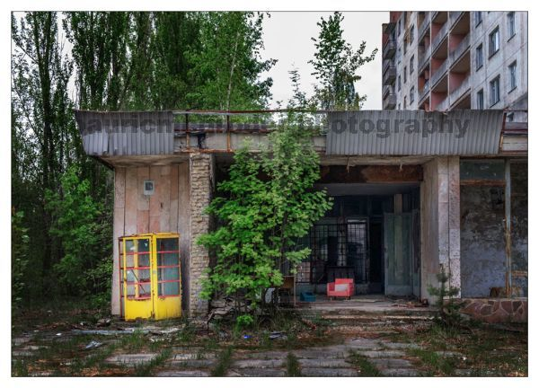 Pripyat Phone Box