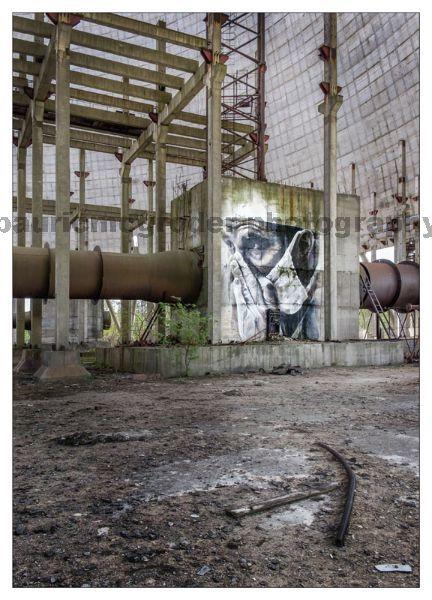 Cooling Towers Grafitti