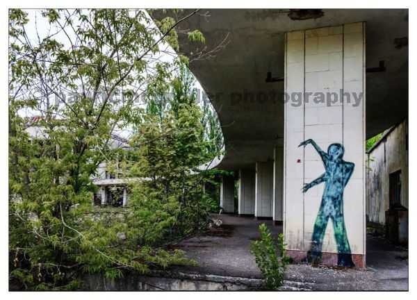 Pripyat Central Square Grafitti