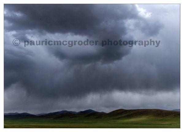 Mongolia Storm Clouds