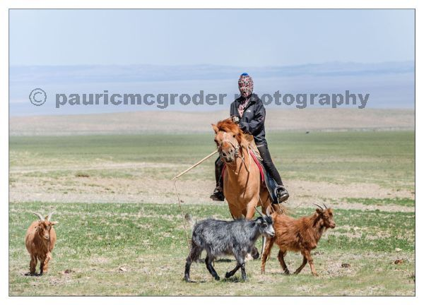 Female Goat Herder