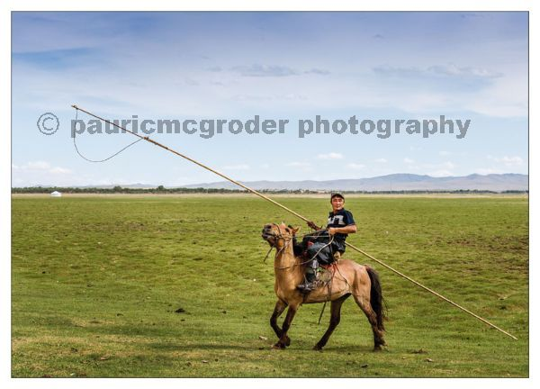 Herdsman with Urga