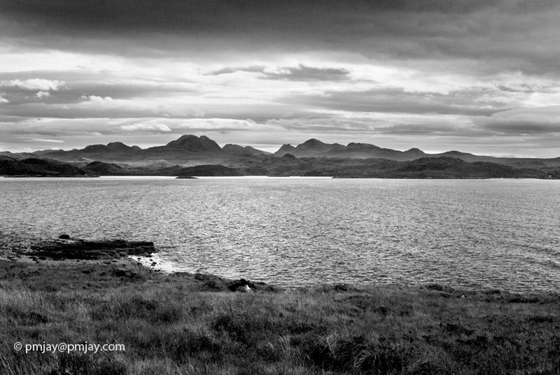 Morning light over Loch Gairloch