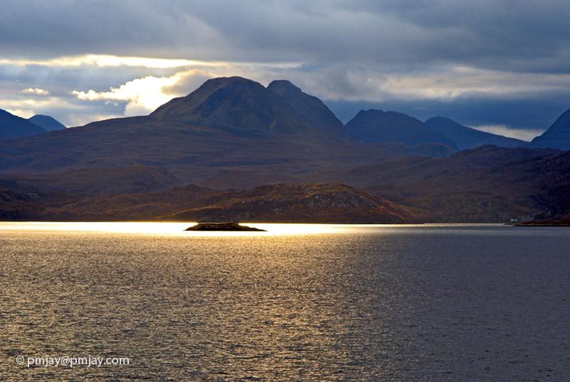 Dawn light over Loch Gairloch