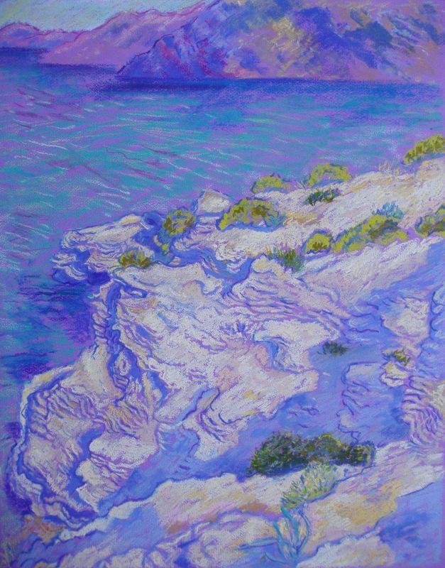 Symi Island coast
