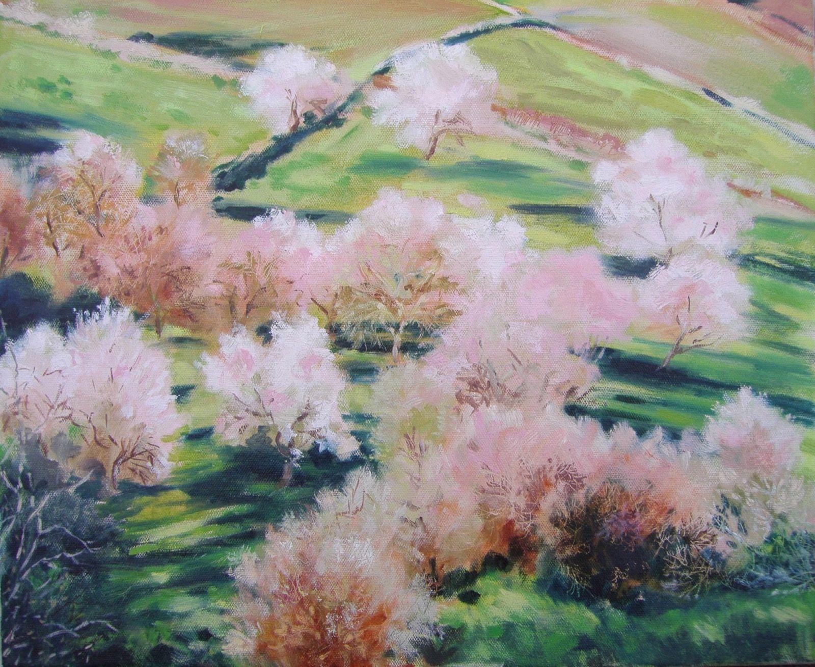 Almond blossom,