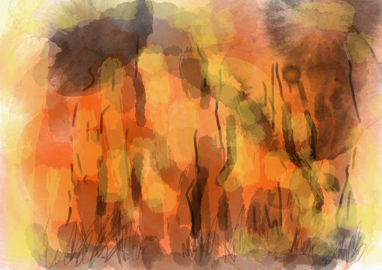 Bushfire, iPad digital