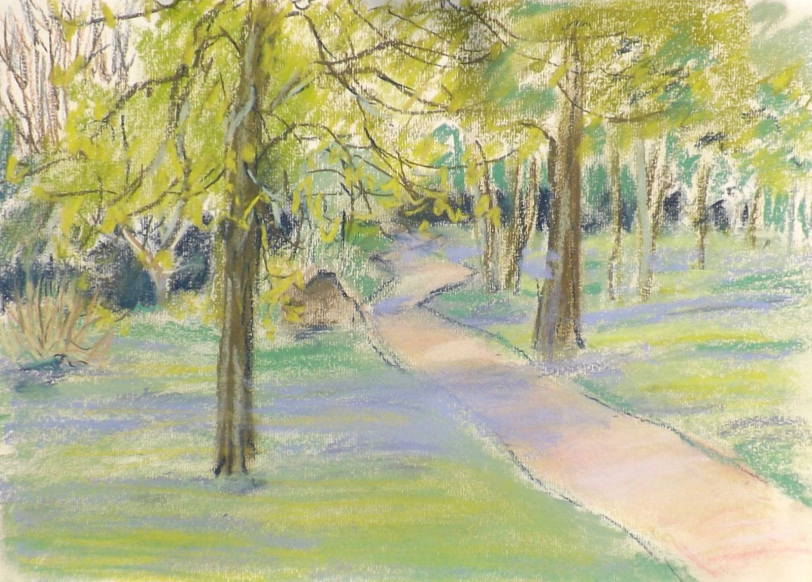 Spring, pastel