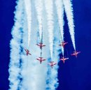 Red Arrows by Denzil Tancock
