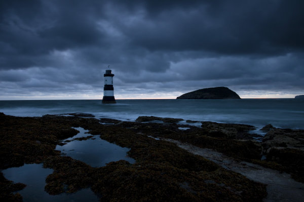 Storm Clouds Gather over Penmon