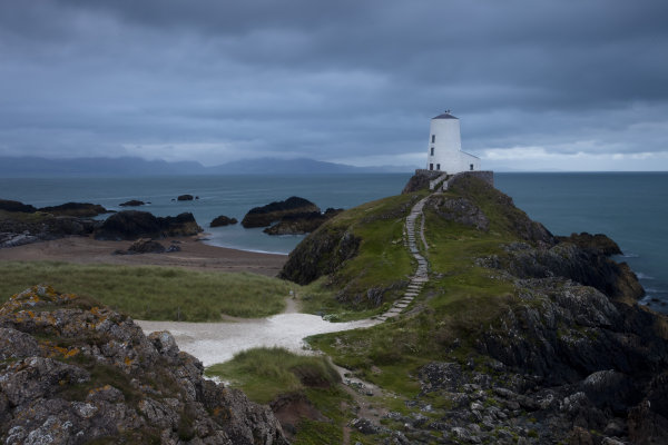 Storm Clouds over Twr Mawr Lighthouse