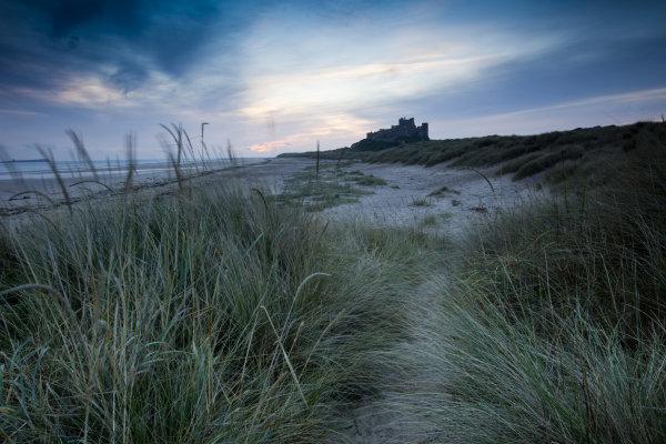 Sunrise Bamburgh Dunes