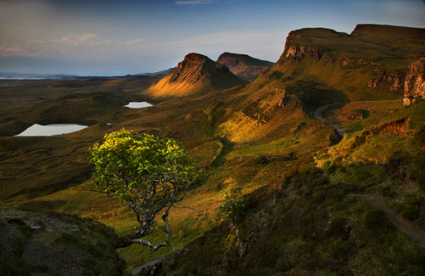 Morning Light Hits The Quiraing