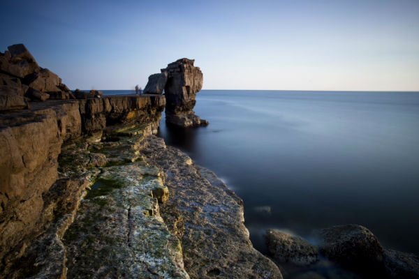 Evening Light Hits Pulpit Rock