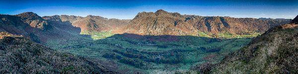 Langdale Valley Panoramic