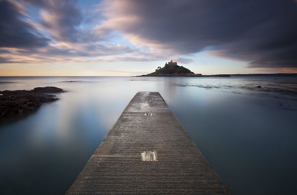 St Michaels Mount at Dawn