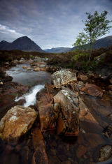 Stob Dearg from the River Coupall