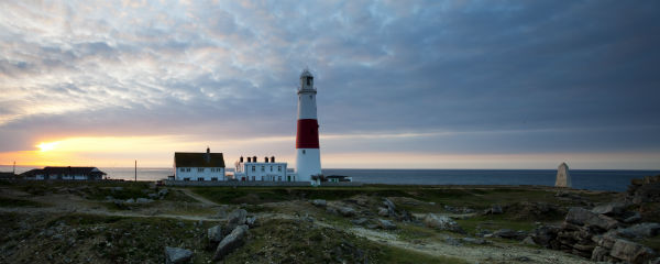 Sunrise at Portland Bill