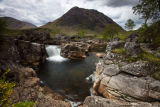 Waterfall River Etive