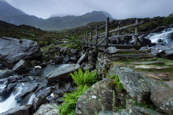 Path to Llyn Idwal