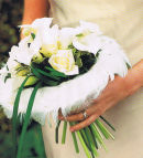 Personalised hand-tied bouquet