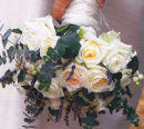 Brides hand-tied bouquet