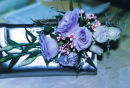 Ladies bag corsage