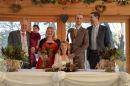Rustic-style wedding