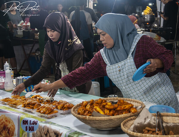 Food Market, Malaysia