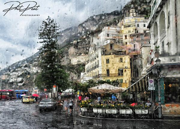 Rainy Day In Amalfi