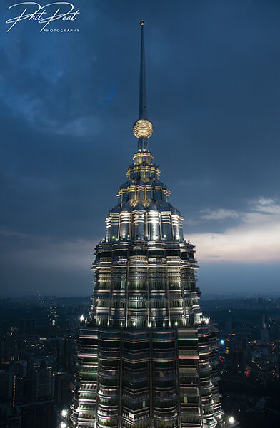 Top Of The Petronas Towers