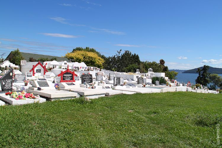 Beautiful Graveyard in Acukland NZ