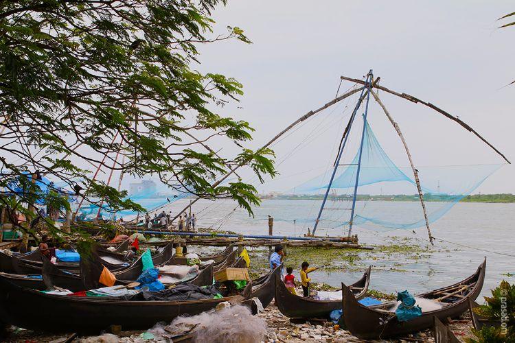 Chinese Fishing Net Fort Kochi