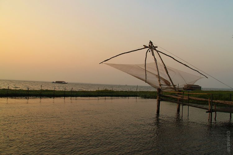 Chinese Fishing Net, Kumarakom