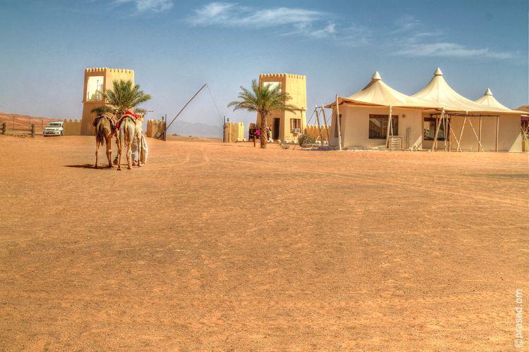 Desert Night Camp Oman